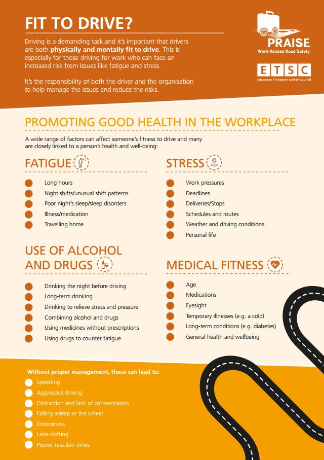 Infographic: Fitness to Drive