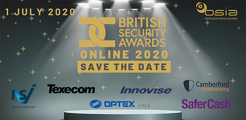 BSIA moves British Security Awards to online broadcast