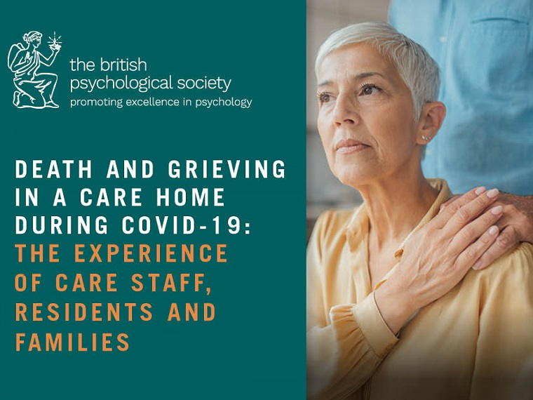 Death and grieving in a care home during Covid-19: the experience of care staff, residents and families