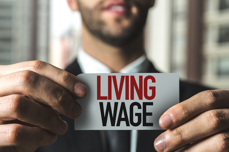 The real living wage and the security sector