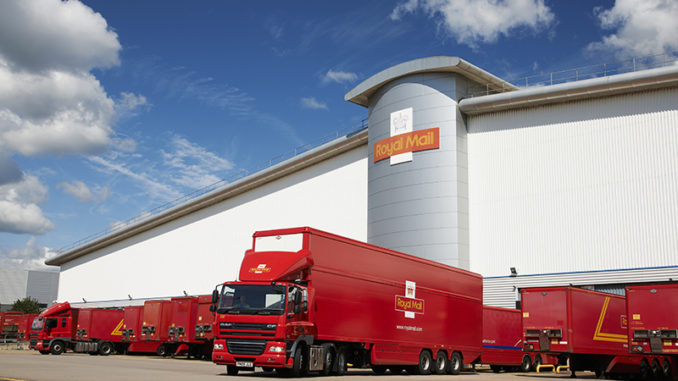 "Royal Mail admits ""legacy in letters"" has hampered transition to parcels"