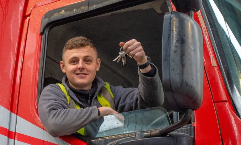 Moody Logistics apprentice driver gains clean sweep of distinctions