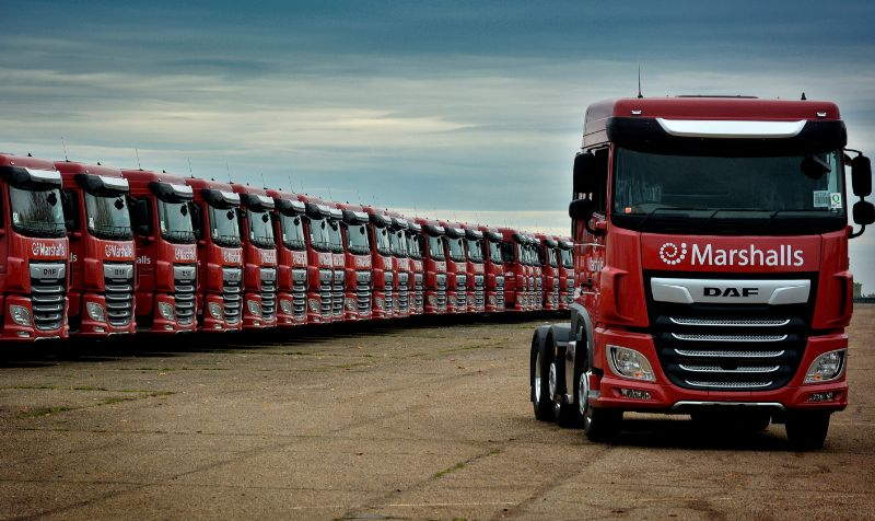 Ryder supplies 100 new DAF Euro-6 tractor units to Marshalls