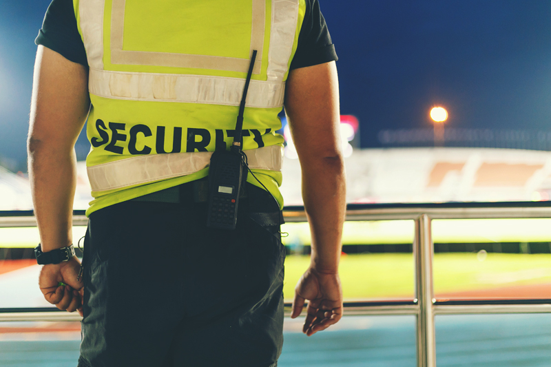 Are security officers underestimated by the public?