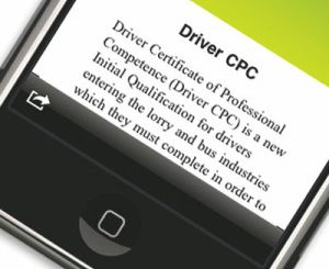 Face-to-face Driver CPC courses suspended during national lockdown