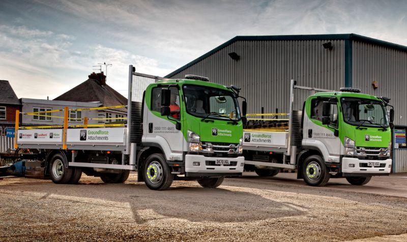 Groundforce adds Isuzu rigids to fleet
