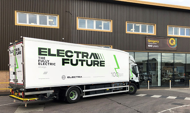 Gregory Distribution and Brewdog to operate UK's first 19-tonne Electra e-Cargo refrigerated rigid