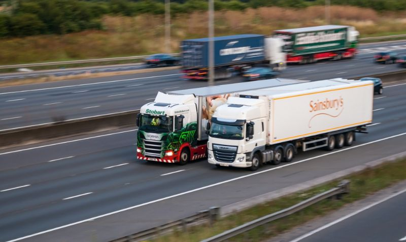 HGV traffic first to return to pre-Covid-19 lockdown levels
