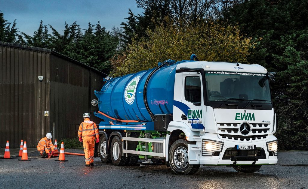 Environmental Waste Management takes delivery of Mercedes Arocs tankers from S&B Commercials