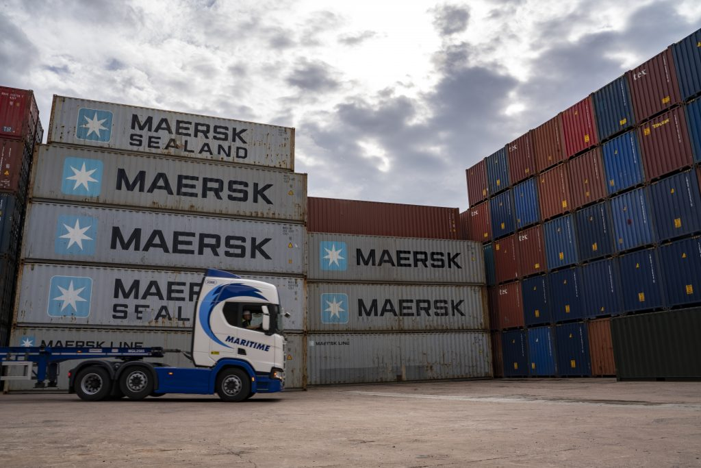 Maritime Transport signs Maersk containers deal