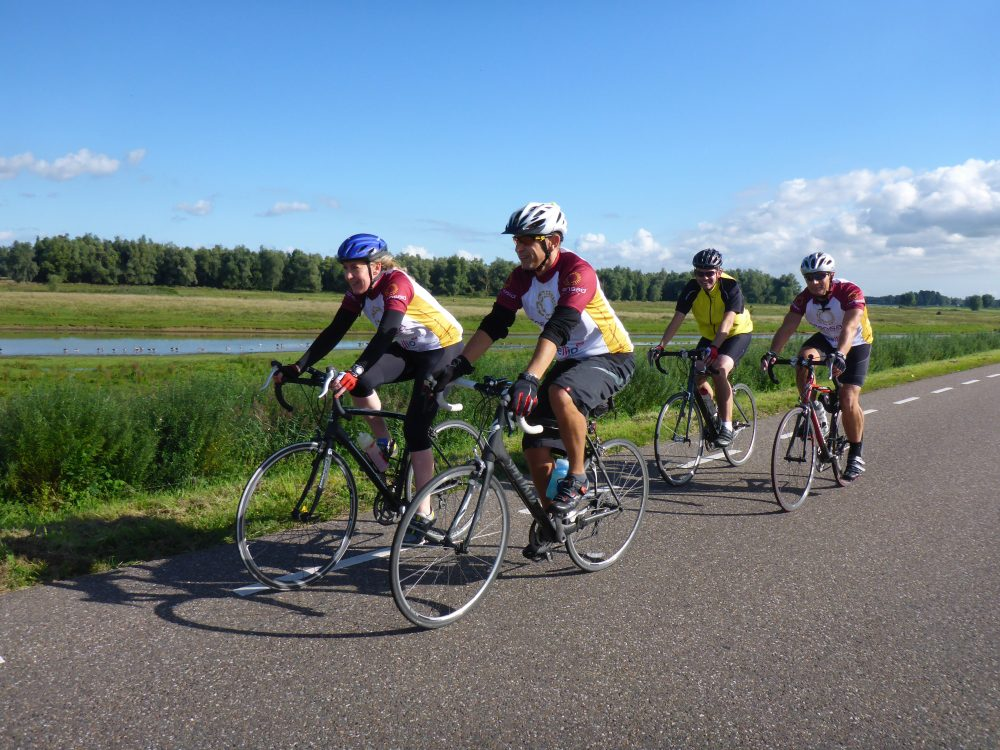 Transaid back in the saddle with launch of fundraising 'Way of the Roses' Cycle Challenge 2021
