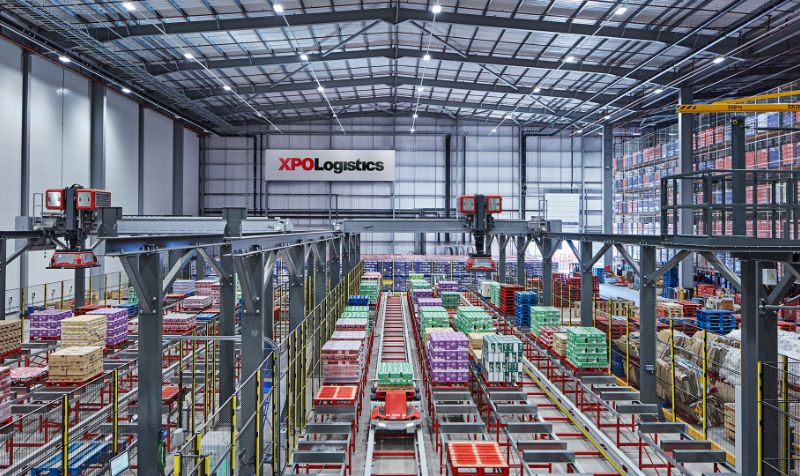 XPO and Nestlé unveil 'digital warehouse of the future'