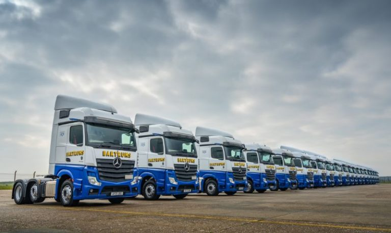 Bartrums Group adds further 20 Mercedes-Benz Actros to fast-growing fleet