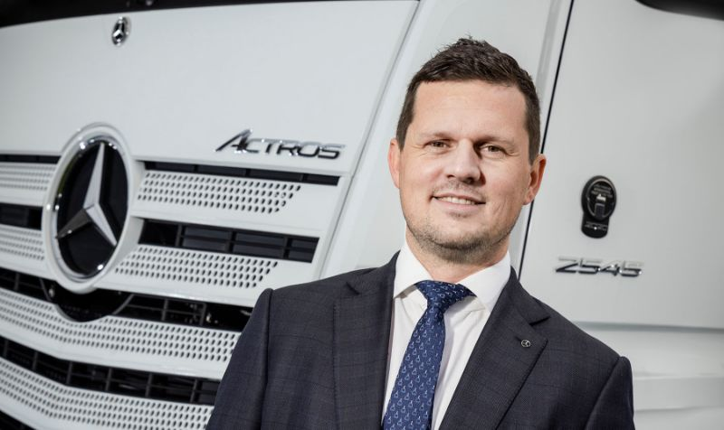 Daimler Truck head of sales moves to Mercedes-Benz