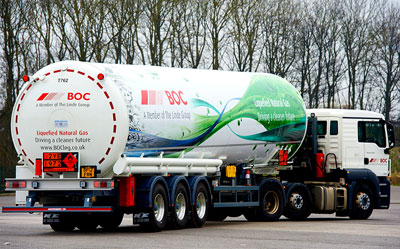 Hauliers left in limbo as BOC withdraws LNG supply from UK