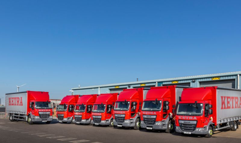 Ketra Logistics partners with Ryder for DVS-compliant DAF rigids