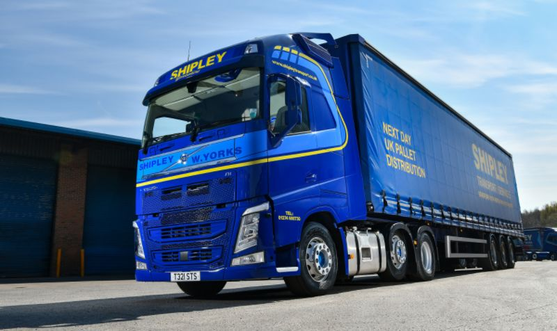 Shipley Transport Services adds Volvo FH tractor units to fleet