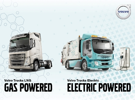 Volvo outlines plans to cut its trucks' carbon emissions in half in under a decade