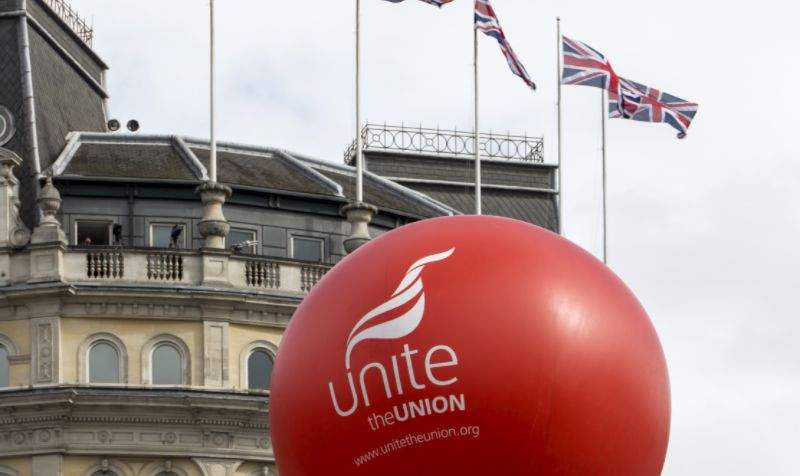Unite union reignites fears of HGV drivers' strike after confronting government