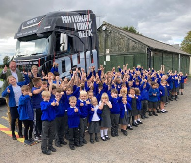 Cullimore gets involved with National Lorry Week