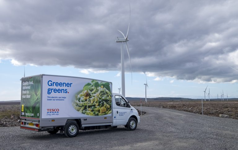 EO Charging to provide electrification programme for Tesco home delivery fleet