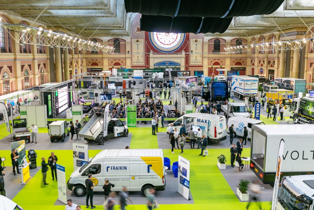 Freight in the City Expo 2021 back live in London with sustainable innovation at its core
