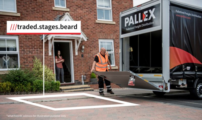 Pall-Ex partners with what3words to improve home deliveries