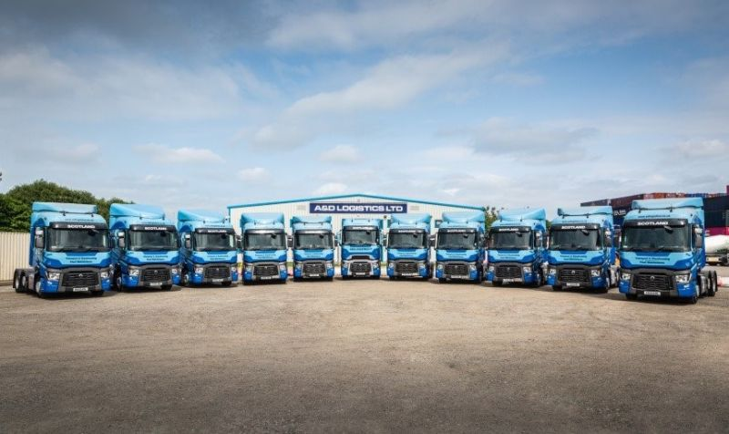 Scottish haulier invests in 10 used Renault tractor units